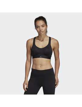 Stronger For It Racer Bra by Adidas