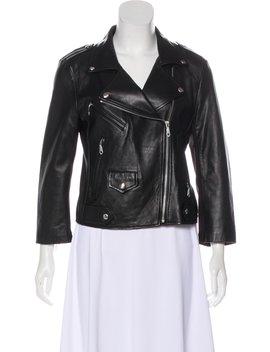 Wes Leather Biker Jacket by Rebecca Minkoff
