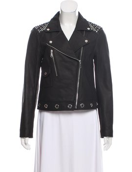 Embellished Leather Jacket by Rebecca Minkoff