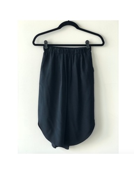 Madewell Silk Island Skirt   Black by Madewell