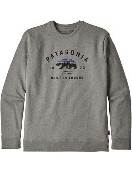 Arched Fitz Roy Bear Uprisal Crew Sweatshirt   Men's by Patagonia