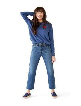 Love Triangle Wedgie Jeans by Ban.Do