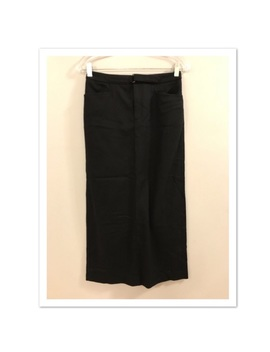 Ralph Lauren Black Long Wool Blend Skirt 2 by Lauren Ralph Lauren