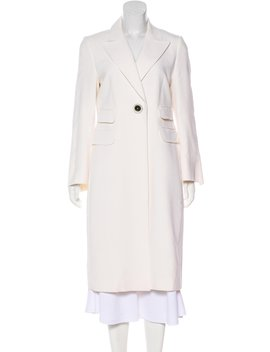 Notch Lapel Long Coat by Gaetanonavarra
