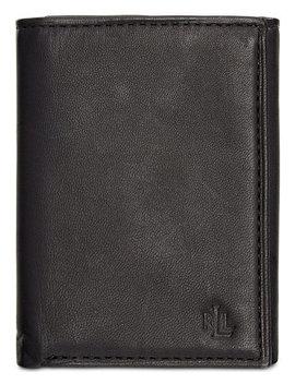 Lauren By Ralph Lauren Burnished Leather Trifold Wallet by Lauren Ralph Lauren