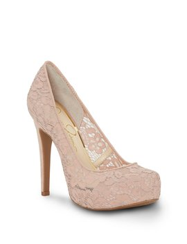 Parisah3 Lace Platform Pumps by Jessica Simpson