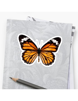 Monarch Butterfly Sticker by South Prints