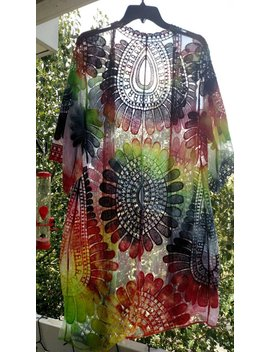 Tie Dye Kimono   Custom Made To Order by Etsy