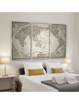 National Geographic World Map Natgeo by Wexford Home
