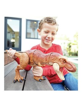 Jurassic World Thrash And Throw T Rex by Argos