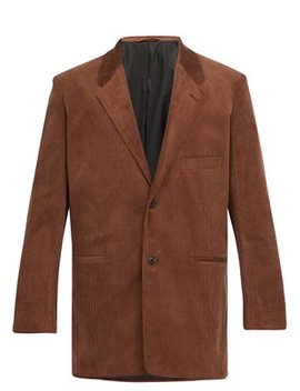 single-breasted-corduroy-blazer by lemaire