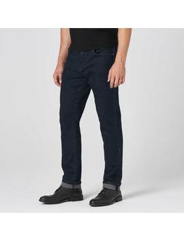 Mens Slim Jeans In Midnight Blue Overdye by Dstld