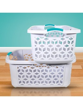Home Logic Stacking Basket White by Home Logic