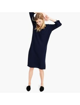 Demylee™ X J.Crew Ribbed Merino Wool Dress by J.Crew