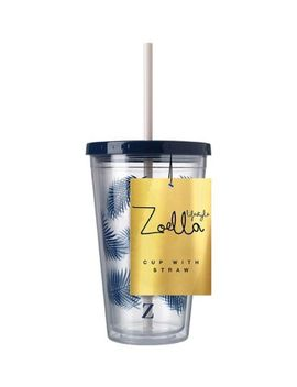 Zoella Lifestyle Cup With Straw by Zoella Lifestyle