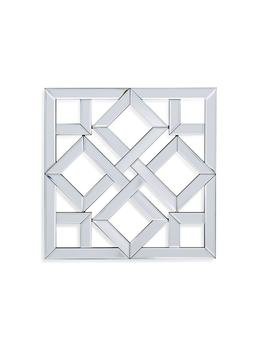 Bassett Mirror Company Vida Square Wall Mirror by Generic
