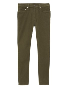 Skinny Brushed Traveler Pant by Banana Repbulic