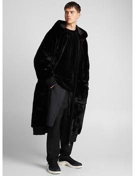Long Faux Fur Coat by D.Gnak