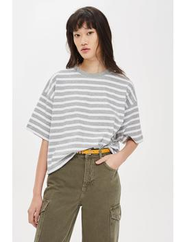 Striped Boxy T Shirt by Topshop