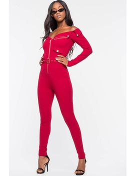 Moto Vibes Jumpsuit by A'gaci