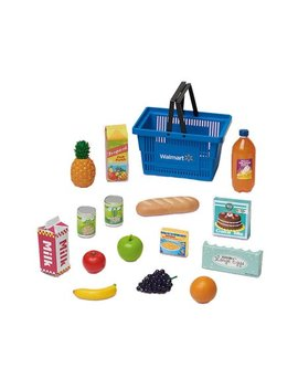 """My Life As 16 Piece Doll Shopping Basket Play Set Made To Fit Most 18"""" Dolls by My Life As"""