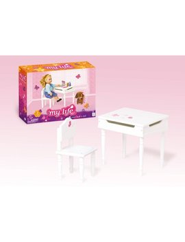 "My Life As 18"" Doll Furniture, Desk And Chair by My Life As"