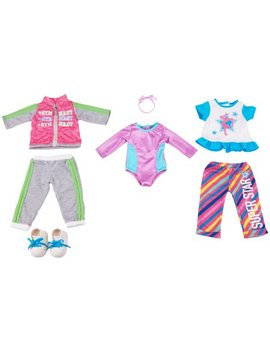 My Life As 7 Piece Gymnast Doll Outfits Set, Designed For Ages 5 And Up by My Life As