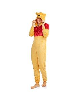 License Women's And Women's Plus Disney Winnie The Pooh Union Suit by Disney