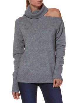 Raundi Cutout Shoulder Sweater by Paige