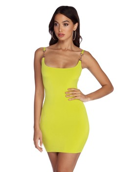 Neon Lights Mini Dress by Windsor