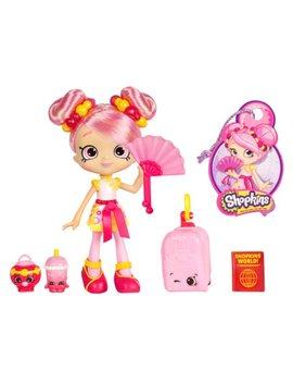Shopkins Shoppies World Vacation Themed Dolls Asia, Bubbleisha by Shopkins