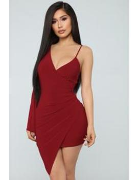 Let's Go Party Mini Dress   Red by Fashion Nova