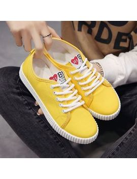 Satomi   Canvas Sneakers by Satomi