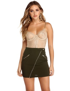 Seeing Things Lace Bodysuit by Windsor