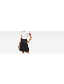 Bristum Army Wrap Skirt by G Star