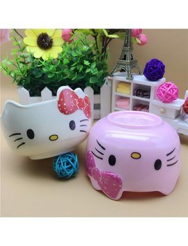 Kitchen Bowl Hello Kitty Set Chopsticks Soup Fruits Vegetables Bowl Home Househould Use For Adults Kids Children 1 Pc Exquisite by Oussirro
