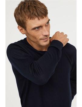 V Neck Merino Blend Sweater by H&M