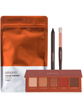 Online Only Color Theory Eye Kit Copper by Pérsona