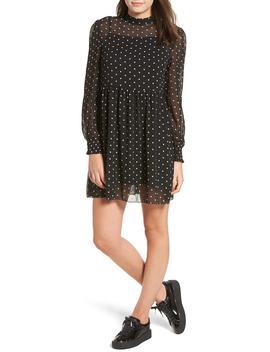 Sweeter Days Embroidered Chiffon Dress by Lira Clothing