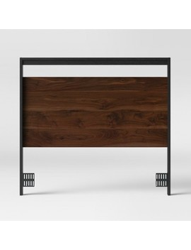 Gruen Two Tone Full/Queen Headboard Grand Walnut Brown   Project 62™ by Shop Collections