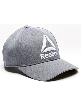 Reebok Delta Logo Heathered Snapback Hat by Reebok