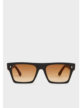 Cutler And Gross + Paul Smith   Matt Black Sunglasses   Limited Edition by Paul Smith