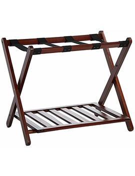 Casual Home Luggage Rack With Shelf by Casual Home