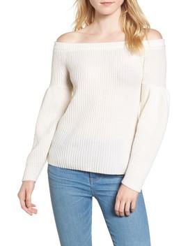 Lottie Off The Shoulder Sweater by Rebecca Minkoff