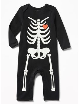 Skeleton Graphic One Piece For Baby by Old Navy