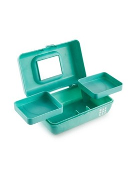 Caboodles Makeup Bags And Organizers Retro Pretty In Petite   Seafoam by Caboodles
