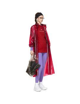 Women's Purple Jersey Turtleneck by Marine Serre