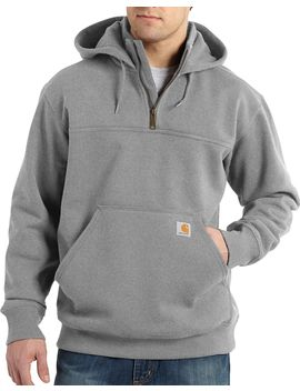 Carhartt Men's Paxton Heavyweight Mock Zip Hoodie by Carhartt