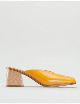 Paloma Wool Galápago Mule   Dark Yellow by Garmentory