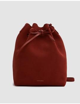 Bucket Bag In Brick by Mansur Gavriel